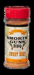 Smokin Guns BBQ Sweet Heat Rub 4.8 oz