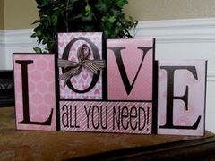 LOVE - All You Need blocks - Full Kit