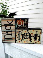 Trick or Treat blocks - Full Kit