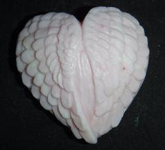 Heart with Wings Goatsmilk Soap