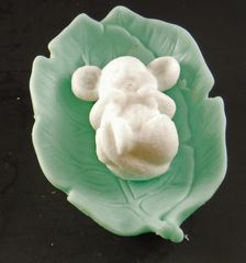 Mouse in a Leaf Goatsmilk Soap