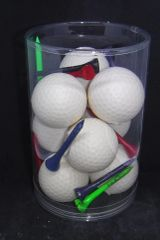 Tube of Golf Ball Soaps
