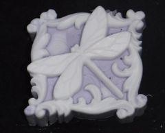 Dragonfly Square Goatsmilk Soap