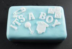 It's a Boy Rectangle Goatsmilk Soap