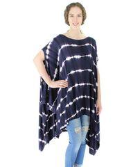 Tie Dye Harem Dress Short One Size 3 colors