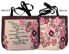 Cancer Tapestry Totes