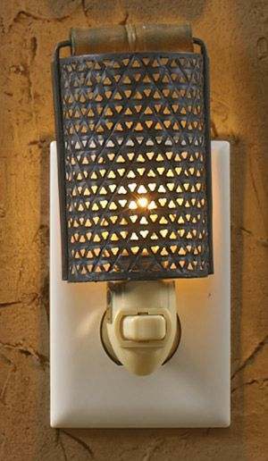 Plug In Grater Night Light Geneva Country Store