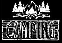 Camping and Campfire