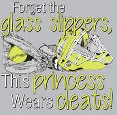 Softball Forget Glass slipper