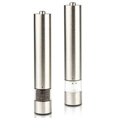 Gourmet Push Button Salt,Pepper and Spice Grinder Set