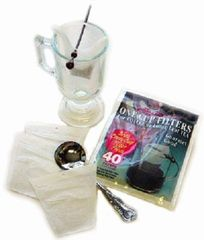 Mini Minit Coffee & Tea Filters - 40 pack