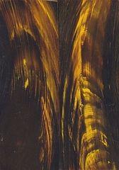 Buffalo Horn Scales - Gold Streak