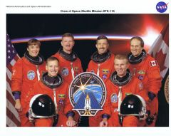 STS-115 Crew Lithograph **FREE SHIPPING** w/ Book Purchase