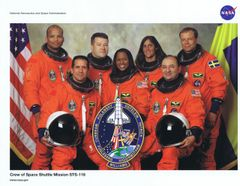 STS-116 Crew Lithograph ** FREE SHIPPING** w/ Book Purchase