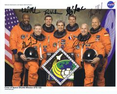 STS-122 Autographed Lithograph (Contact for Price)