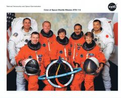 STS-114 Crew Lithograph **FREE SHIPPING** w/ Book Purchase