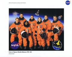 STS-120 Crew Lithograph ** FREE SHIPPING** w/ Book Purchase