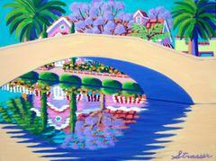 Jacarandas on Retro Canal