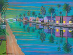 "Evening Light - 24"" x 32"" Canvas Print"