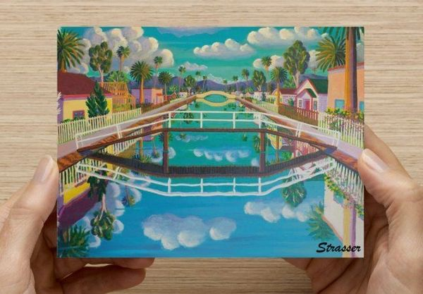 20 Assorted Venice Beach Postcards