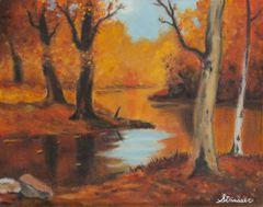 Autumn Woods | 24 x 32 | Canvas Print