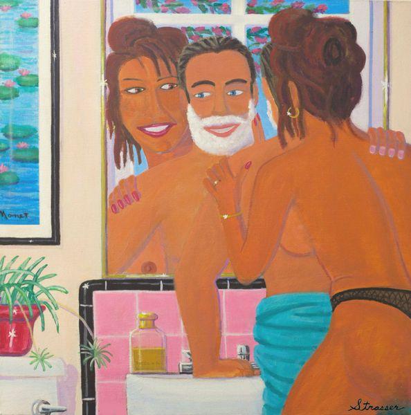 Close Shave | 14 x 14 Print
