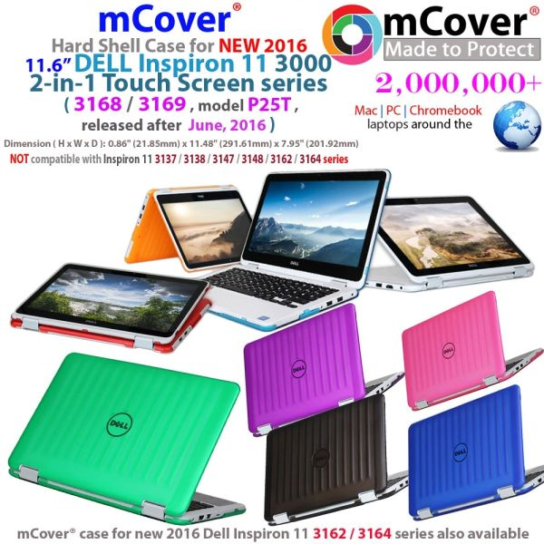 4ffc4aff1ef4 mCover Hard Shell Case for NEW 2016 11.6