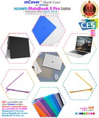 """mCover Hard Shell Case for 2018 13.9"""" Huawei MateBook X Pro Series Laptop"""