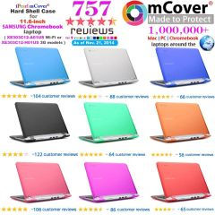 "mCover Hard Shell Case for 11.6 Samsung Chromebook 11.6"" (XE303C12 series Wi-Fi or 3G) laptop"