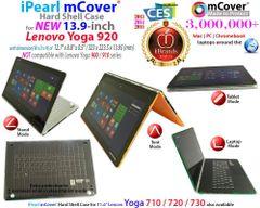 "mCover Hard Shell Case for 13.9"" Lenovo Yoga 920 (NOT Fitting Yoga 900/910) multimode Laptop Computer"