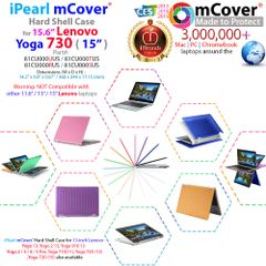 mCover Hard Shell Case for Lenovo YOGA 730 PRO 15-inch Convertible Touchscreen Notebook (**Not compatible with ANY Yoga 15 inch model **)