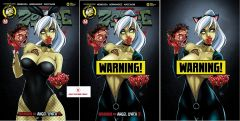 Zombie Tramp #59 Abbas Discount Ash Madi Variant cover set (3 comics) - Regular, Risque, and Risque Virgin