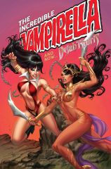 Vampirella Dejah Thoris #1 Abba's Discount Exclusive by Sabine Rich - Incredible Hulk #181 First Wolverine Homage Cover - Limited to 500