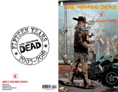 Walking Dead #1 Abba's Discount Exclusive - Limited to 1000