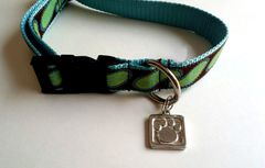 Paws for a Cause Pewter Paw Print Collar Jewelry