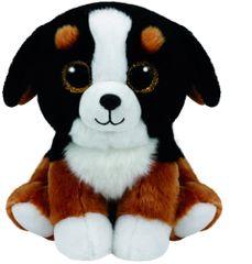 8a9bd695528 TY Beanie Babies Boos Glitter Eyes Roscoe - dog Stuffed Small 6