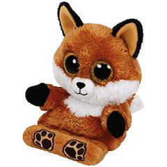 5384af14533 Ty Peek-A-Boo Phone Holder with Screen Cleaner Bottom Sly The Fox