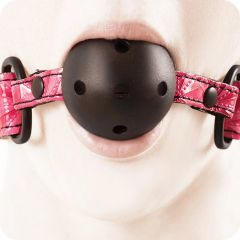 Sinful Ball Gag in Pink