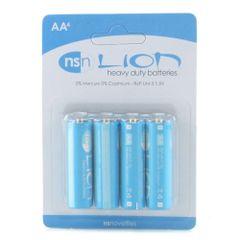 Lion Heavy Duty Battery 4 Pack in AA