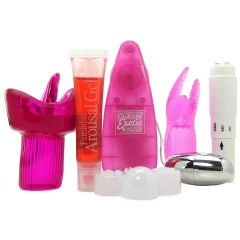 Her Clit Kit in Pink/Clear