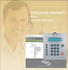 TotalPass Proximity Gold Support Agreement