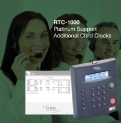 RTC-1000 Platinum Support Child Clocks