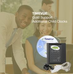 TimeVue Gold Support Child Clocks