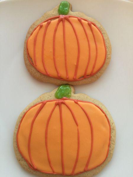 Iced Pumpkin