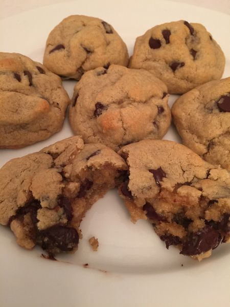 Gluten free Chocolate Chip Cookies 1 dozen
