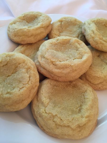 Meyer Lemon Cookies 1 dozen