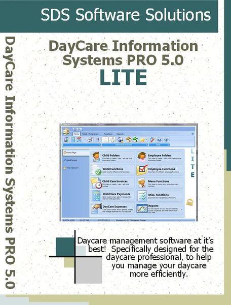 DayCare Information Systems PRO 5.0 LITE