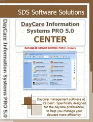 Site License (2-5 PCs) - DayCare Information Systems PRO 5.0 CENTER