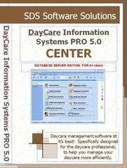 Site License (6+ PCs) - DayCare Information Systems PRO 5.0 CENTER