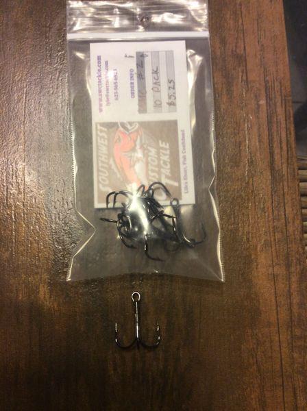 VMC Treble Hooks size 2 10 pack